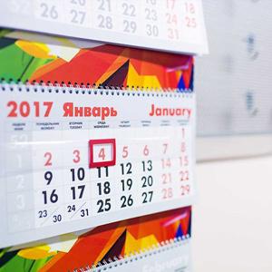 Печать и изготовление календарей - типография Этикет принт